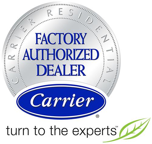Carrier Factory Authorized Dealer